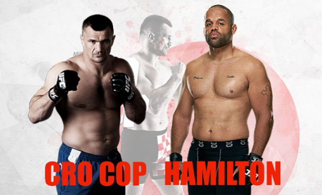 Cro Cop vs. Anthony Hamilton, 28.11.2015. @ Seoul, Korea