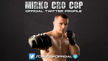 Follow us on Cro Cop's official Twitter profile!